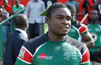 Kenyans mourn Rugby star MIKE OKOMBE stabbed to death by his wife MARYANNE MUMBI.