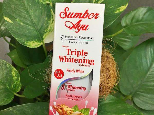 Pembersih wanita - Sumber Ayu 3x Whitening Pearly White