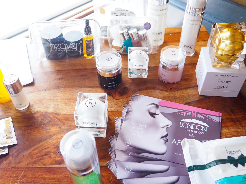 #BloggerTikiParty Deborah Mitchell Heaven Skincare