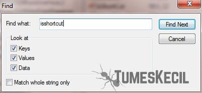 cara menghilangkan tanda panah pada aplikasi laptop sangat mudah