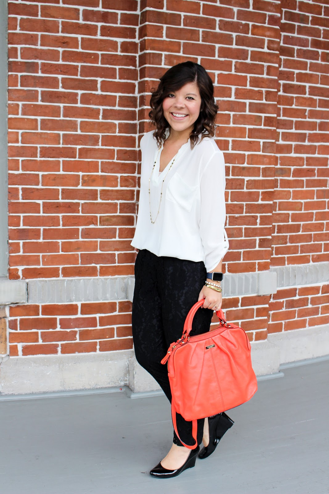 Workweek Chic: Black Lace + A Life Update!