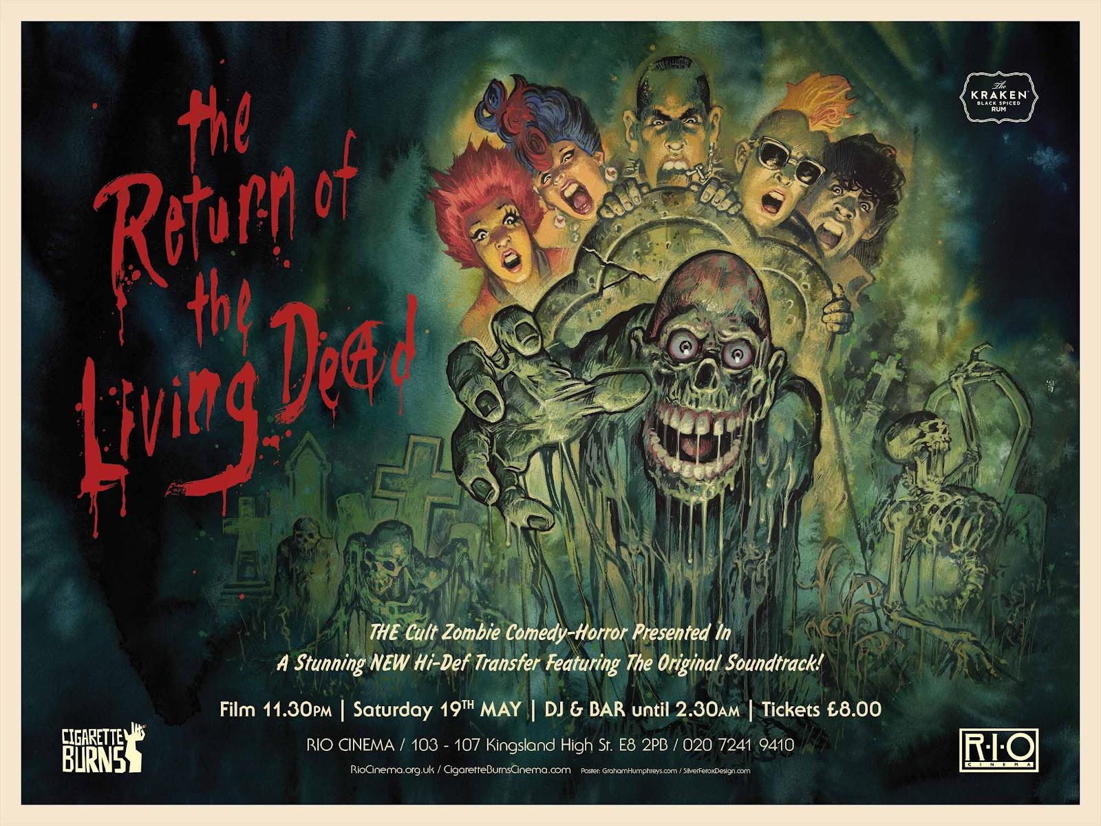Silver Ferox Design The Return Of The Living Dead Dan O Bannon