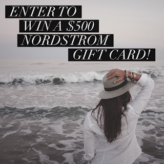 Enter the Nordstrom Gift Card Giveaway. Ends 3/28