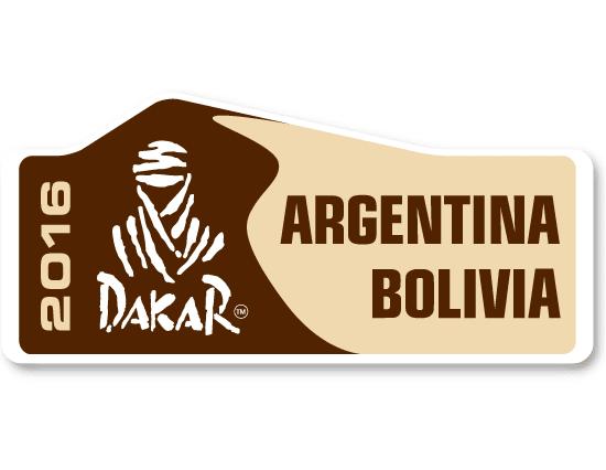Logo oficial del Rally Dakar 2016