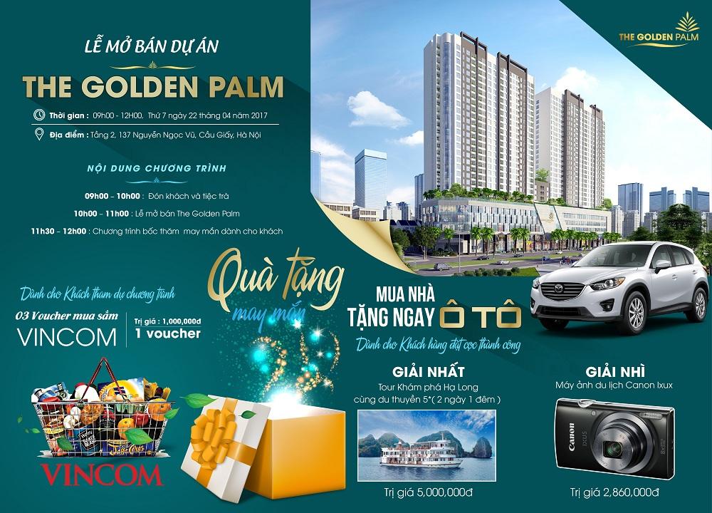 Chung cư The Golden Palm - Lê Văn Lương