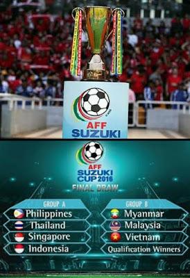 Jadual  Perlawanan Piala AFF Suzuki 2016 Online