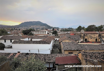 Panoramic view of Downtown Patzcuaro