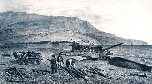 Ялта. Рисунок 1837 г.