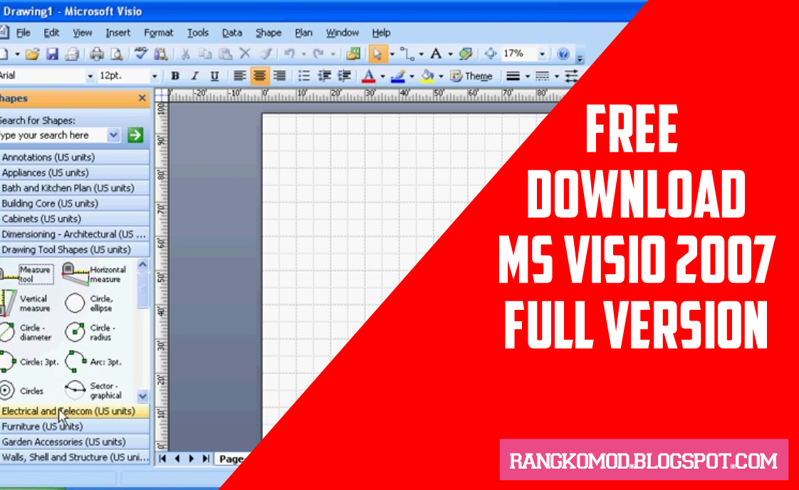Free Download Ms Visio Portable 2007 Full Version - RANGKOMOD