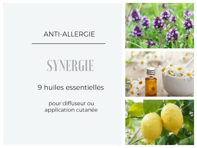 soigner les allergies saisonnières avec les huiles essentielles