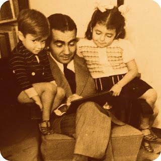 Erico com Luís Fernando e Clarissa Veríssimo