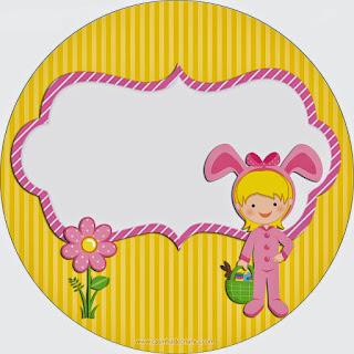 Niños Disfrazados para Pascua: Mini Kit para Imprimir Gratis.