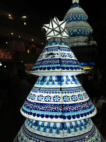 Christmas lantern at Kanayama Station, Nagoya