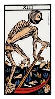 La Muerte- Tarot de Marsella