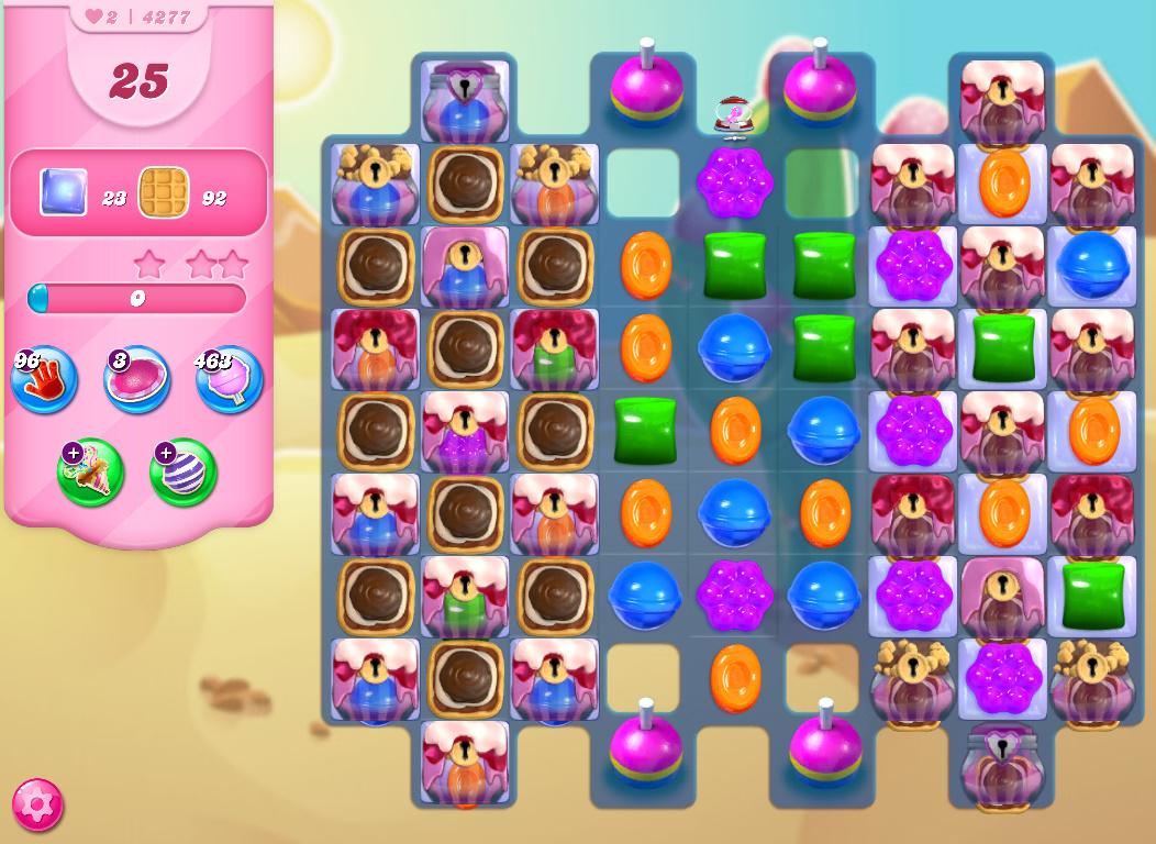 Candy Crush Saga level 4277