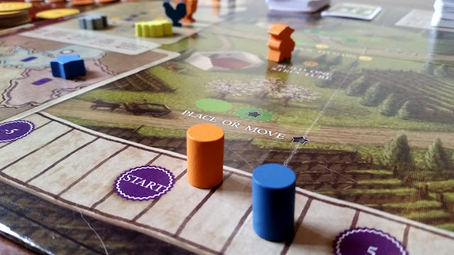 Viticulture worker placement board game review