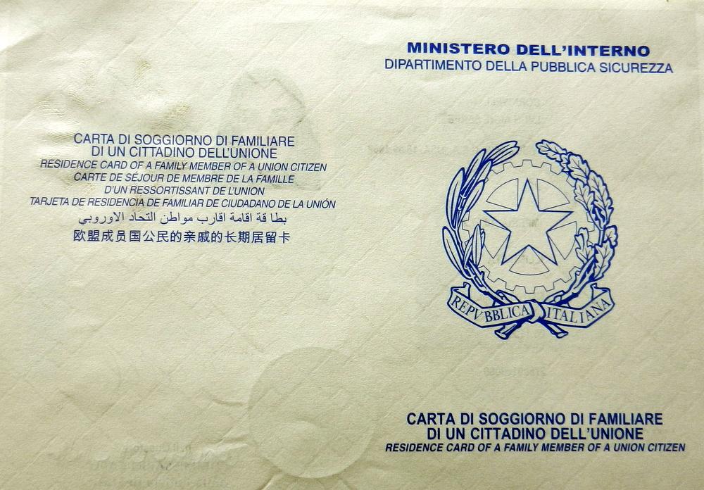 129 Carta Di Soggiorno - tutti i documenti da fare dopo ...