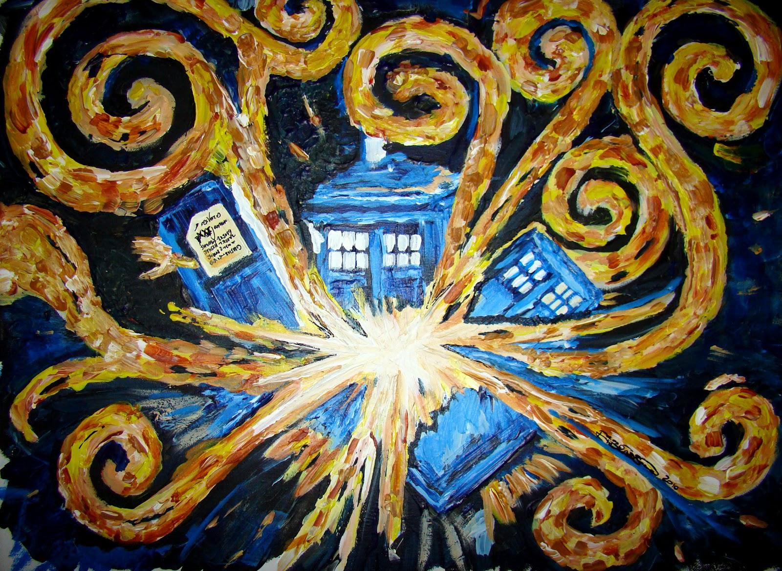 tardis art exploding - photo #18