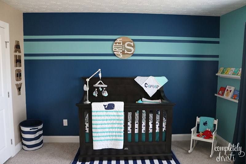 Nautical Baby Boy Nursery