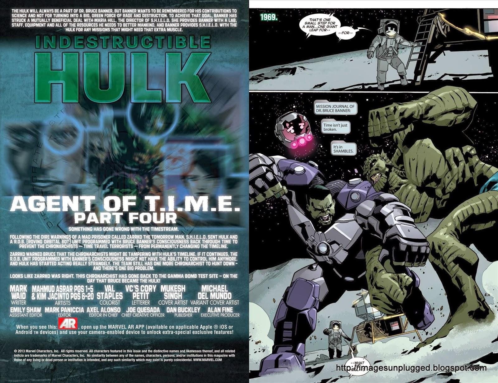 indestructible hulk agent of time - photo #21