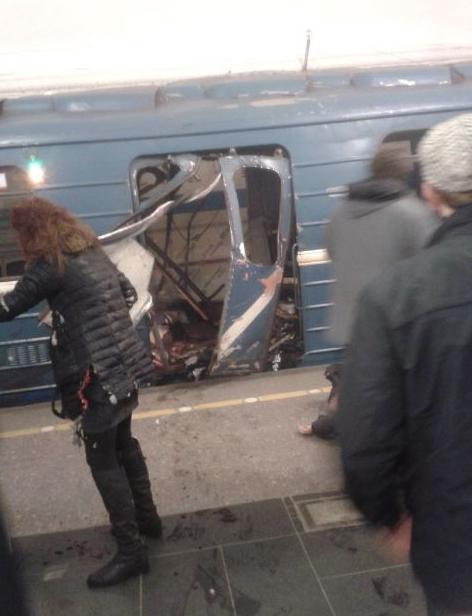 Two explosions in the St. Petersburg Metro: Information for dozens of deaths