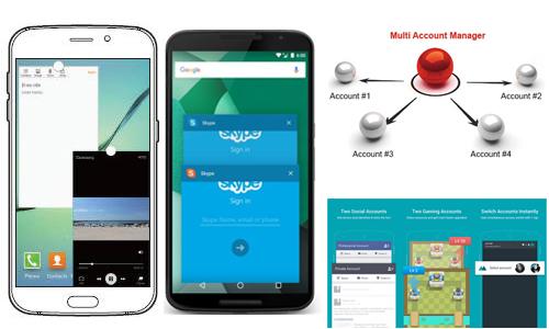 6 Aplikasi Yang Dapat Membuka 2 Akun Secara Bersamaan di Android (Multi Window)