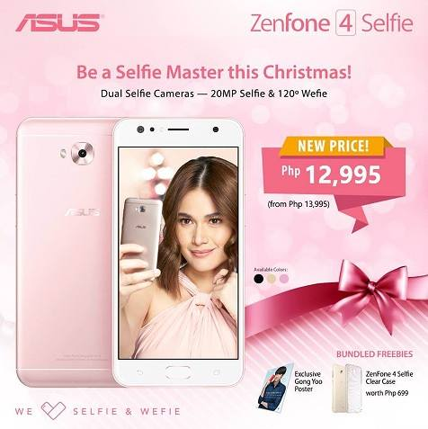 ASUS ZenFone 4 Selfie Drops Price to Php12,995