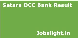 Satara DCC Bank Result