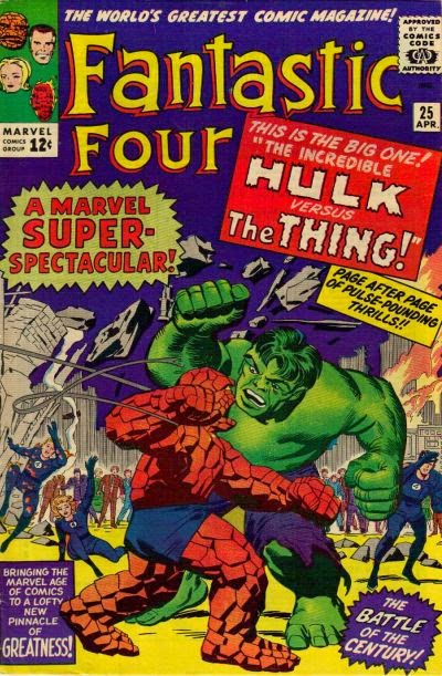 Fantastic Four #25, The Hulk vs the Thing