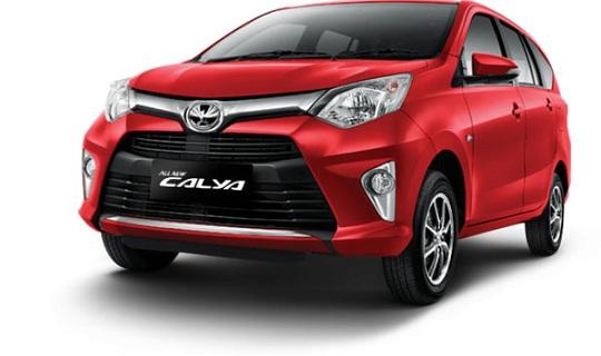 Harga & Kredit Toyota Calya di Jakarta Tangerang Serang Bekasi Depok Bogor 2018