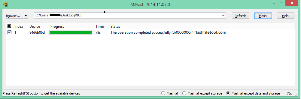 Mi Flash Tool Download