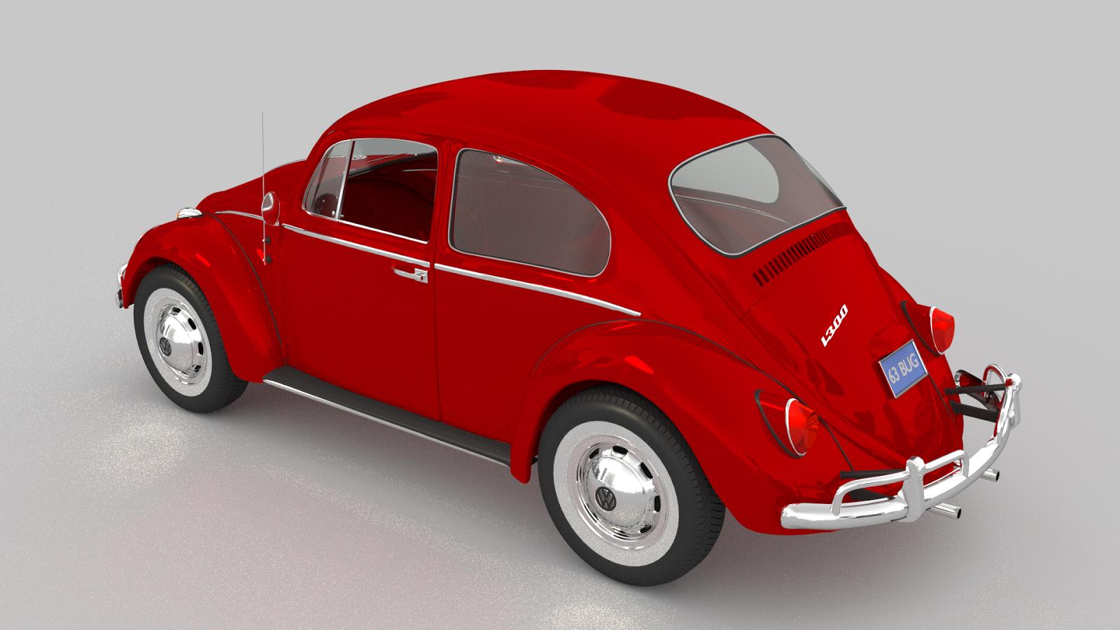 AM Rear Bumper For Volkswagen Beetle