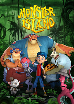 Monster Island 2017 Hollywood 230MB WEB DL 480p at movies500.info