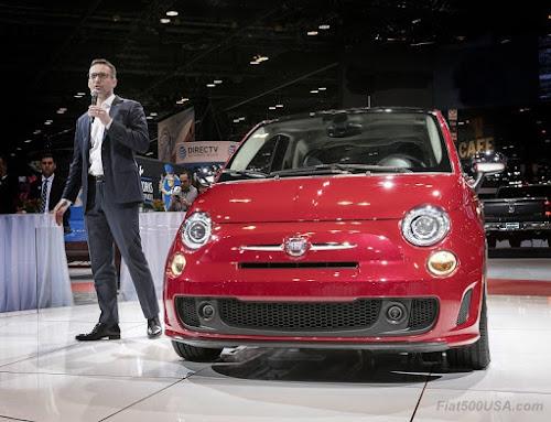2018 Fiat 500 Press Conference