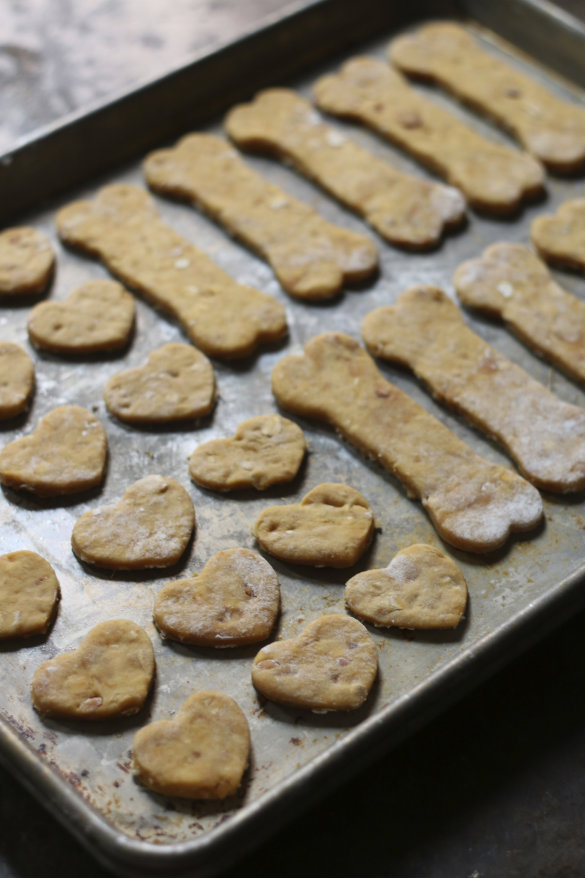 17 apart natural dog treat recipe frosted peanut butter
