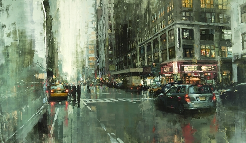 06-Hell-s-Kitchen-Jeremy-Mann-Figurative-Painting-in-Cityscapes-Oil-Paintings-www-designstack-co