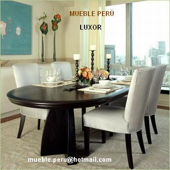 Muebles pegaso exclusivos y modernos comedores for Muebles maldonado