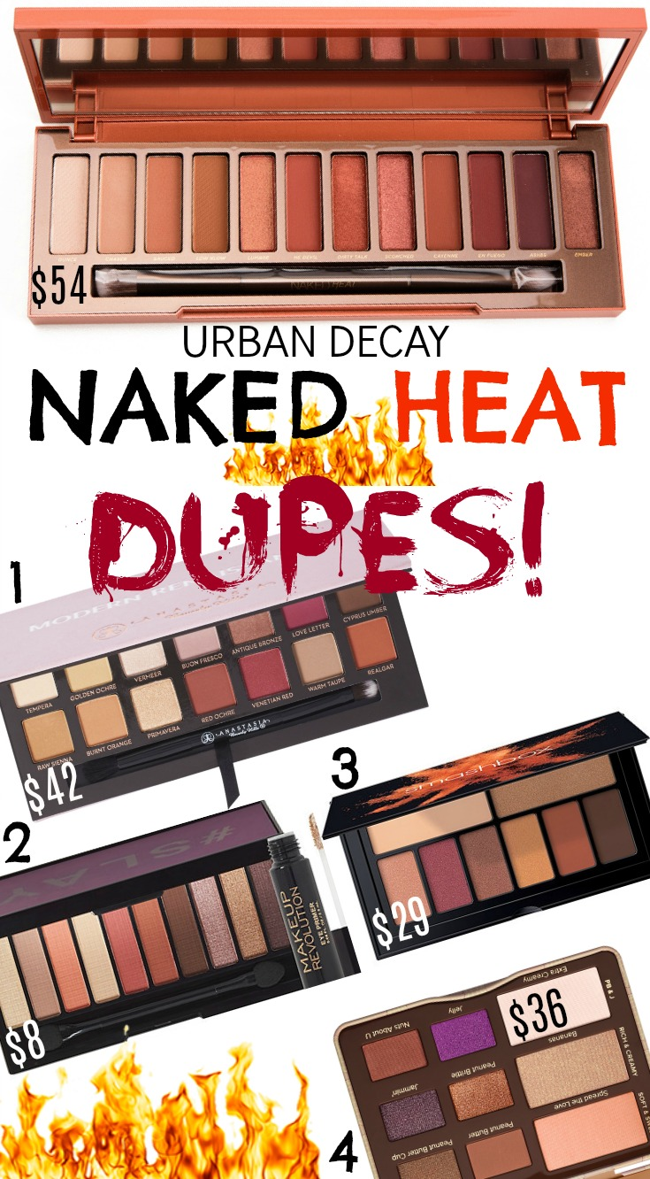 Populaire URBAN DECAY NAKED HEAT PALETTE DUPES! | Beauty4Free2U ND22