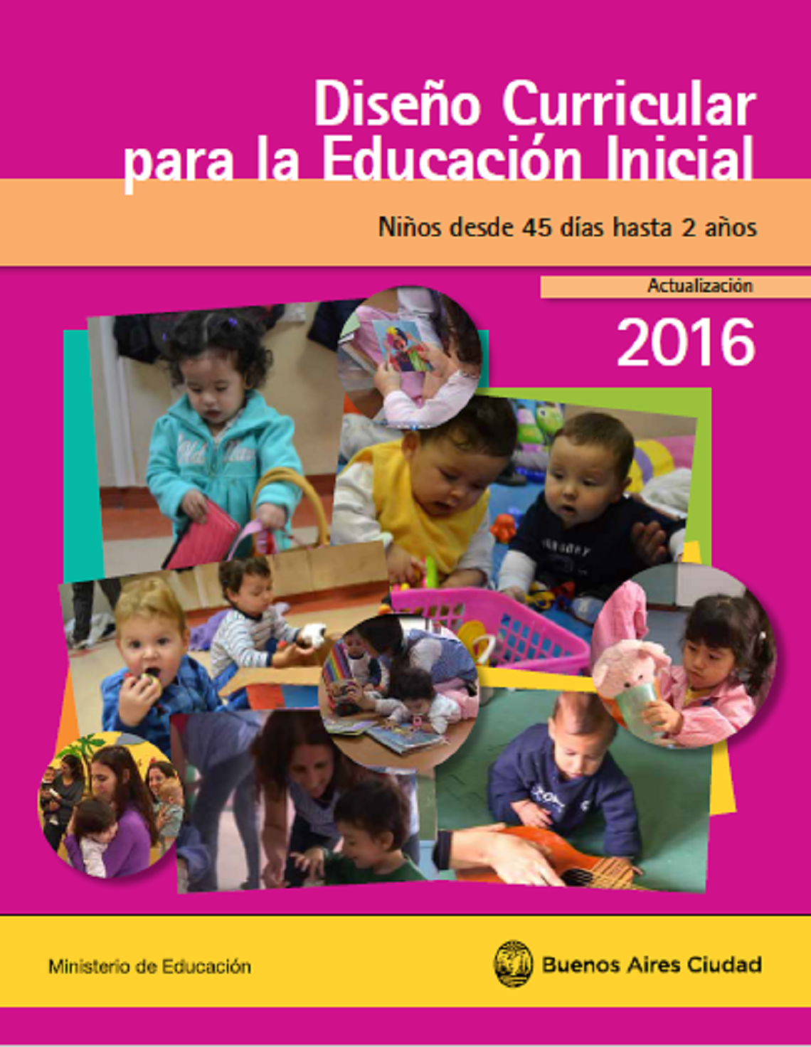 educaci n inicial c rdoba dise o curricular maternal On diseno curricular maternal