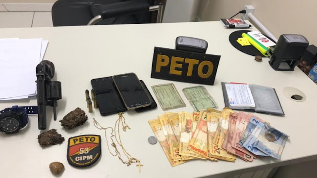 Cinco homens são presos durante operação policial em Mata de São João