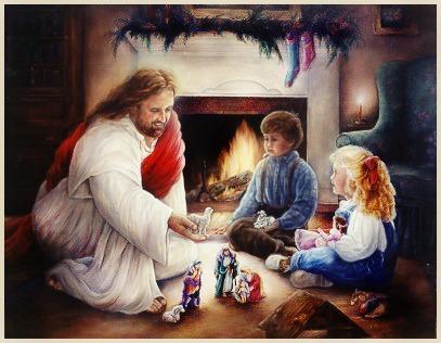 Manten a Cristo en el centro de tus celebraciones navideñas y en el centro de tu vida.