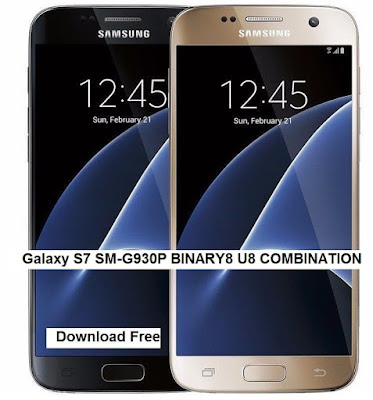 Galaxy S7 SM-G930P BINARY8 U8 COMBINATION