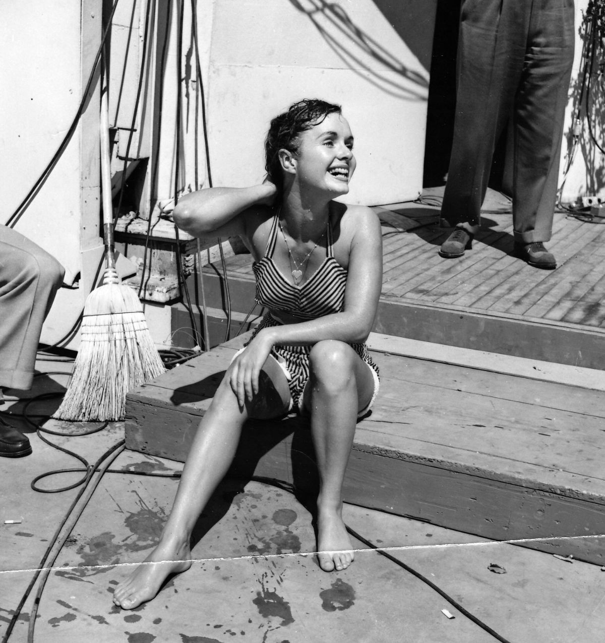 On the 1st anniversary of her death we selected a gallery of 40 wonderful black and white photographs of debbie reynolds in the 1950s and 1960s