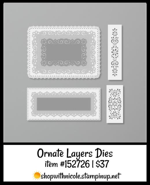 Ornate Borders dies | item 152724 | shop with Nicole Steele The Joyful Stamper