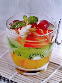 Gambar Resep Minuman Jeli Tuti Fruti