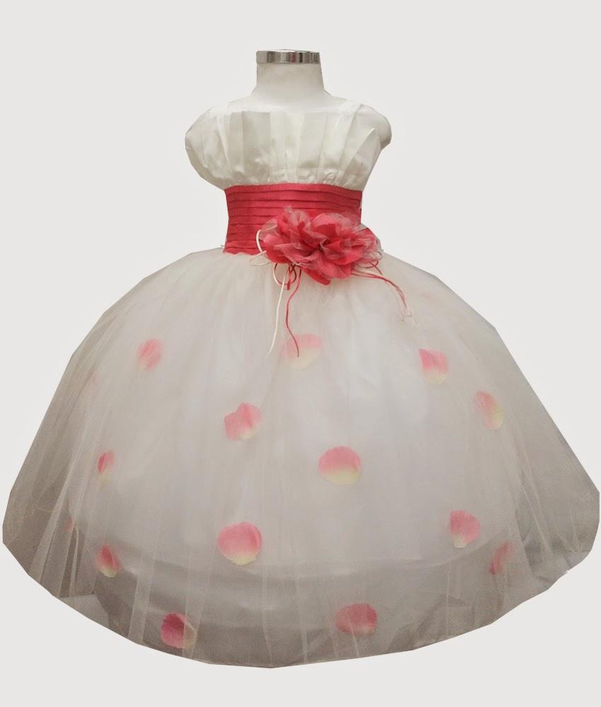 Vestidos de fiesta para nina color rosa coral