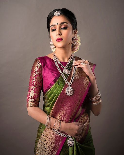 3cadaab057 41 Latest pattu saree blouse designs to try in 2019 || Blouse ...