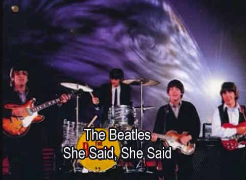She Said She Said The Beatles Lyrics Chords And Video Lyrics