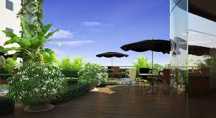 SkyBar tại chung cư Riverside Garden