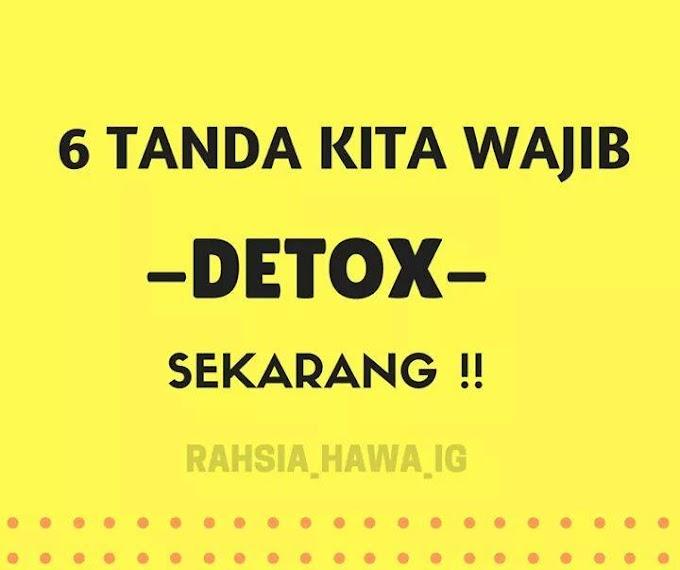 6 Tanda Kita Wajib Detox & 9 Contoh Kombinasi Air Detox